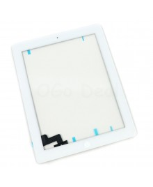 iPad 2 Glass and Digitizer with Home Button Flex Assembly,Original - White