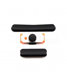 iPad 2/3/4 Side Keys button set (3 pcs/set) - Black