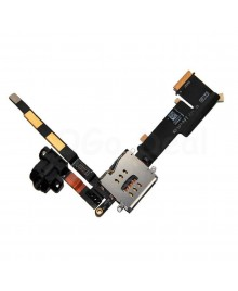 iPad 2 Audio Headphone Jack Flex Cable with Interconnection  Board (Cellular verison)- Ori