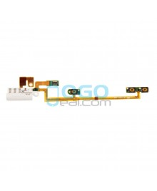 Headphone Jack Flex Cable Replacement for iPod Nano 6th Gen - White
