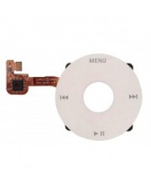 Click Wheel Flex Cable Replacement for iPod Classic 6th Gen - Silver