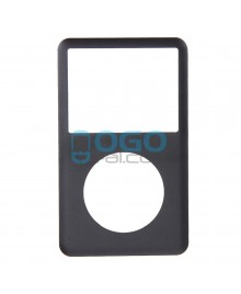 Front Cover Replacement for iPod Classic 6th Gen - Black