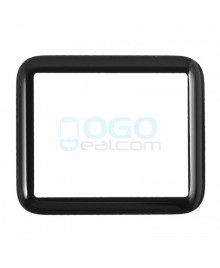 Front Outer Screen Glass Lens Replacement for Apple Watch(Series 1) 38mm - Black