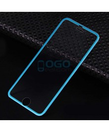iPhone 7 Titanium Alloy Full Cover Tempered Glass Screen Protector Film Blue With retail Packing Box