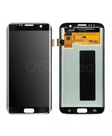 LCD and Digitizer Assembly Replacement for Samsung Galaxy S7 Edge  - Black