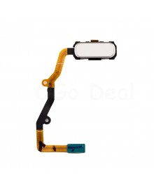 Home Button Flex Cable for Samsung Galaxy S7 Edge - White