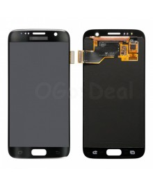 LCD and Digitizer Assembly Replacement for Samsung Galaxy S7  - Black