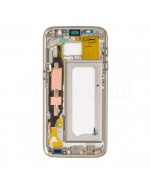 LCD front Support Frame for Samsung Galaxy S7 (G930A / G930T) - Gold