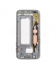 LCD front Support Frame for Samsung Galaxy S7 (G930F) - Black