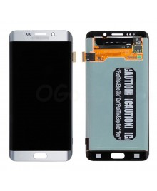 LCD and Digitizer Assembly Replacement for Samsung Galaxy S6 Edge Plus  - Silver