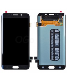 LCD and Digitizer Assembly Replacement for Samsung Galaxy S6 Edge Plus  - Black Sapphire