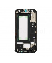 LCD front Support Frame Replacement for Samsung Galaxy S6 Edge ) - (G925A / G925T) - Black
