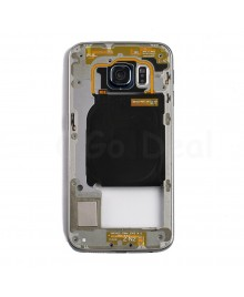 Back Housing Assembly for Samsung Galaxy S6 Edge ) - (G925P / G925V) - Black
