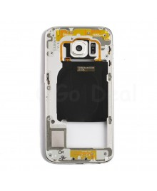 Back Housing Assembly for Samsung Galaxy S6 Edge (G925A / G925T) - White