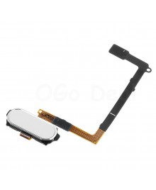 Home Button Flex Cable Replacement for Samsung Galaxy S6- White