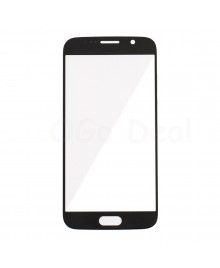 Front Glass Lens Replacement for Samsung Galaxy S6 Black