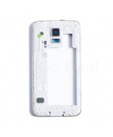 Midframe Assembly for Samsung Galaxy S5  - White