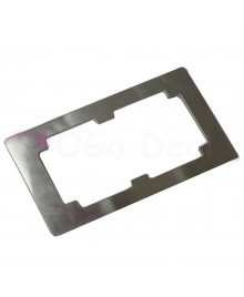 Aluminium Alloy LCD and Outer Glass Lens Refurbishment Glueing Mould for Samsung Galaxy S4