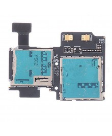 SIM and SD Card Slot/Reader i9505 Replacement for Samsung Galaxy S4 IV