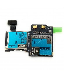 SIM and SD Card Slot/Reader I545 Replacement for Samsung Galaxy S4 IV