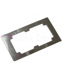 Aluminium Alloy LCD and Outer Glass Lens Refurbishment Glueing Mould for Samsung Galaxy S3 III
