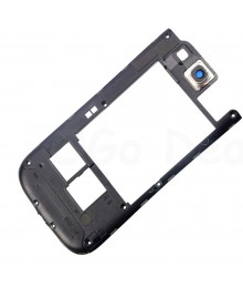 Middle Frame /Back Housing Frame Replacement for Samsung Galaxy S3 III Blue