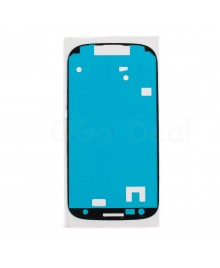 Front Housing Adhese Sticker Replacement for Samsung Galaxy S3 III