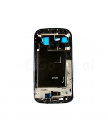 For Samsung Galaxy S3 III i9300 Faceplate Front Bezel Middle Plate Frame - Blue