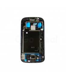 For Samsung Galaxy S3 III L710 Faceplate Front Bezel Middle Plate Frame - Blue