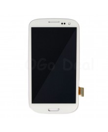 LCD Screen and Digitizer Assembly Replacement for Samsung Galaxy S3 III - White