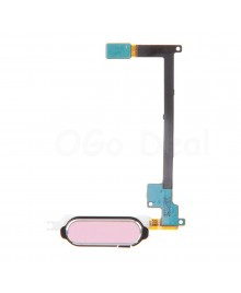 Home Button Keypad Flex Cable Replacement for Samsung Galaxy Note 4 - Pink