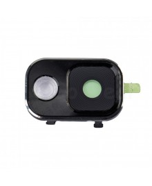 Replacement for Samsung Galaxy Note 3 Rear Camera Lens Cover with Holder - Black