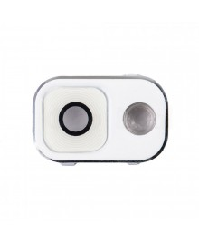 Replacement for Samsung Galaxy Note 3 Rear Camera Lens Cover with Holder - White