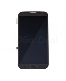 LCD Screen and Digitizer Assembly Replacement With Frame for Samsung Galaxy Note 2 N7105 / I317 / T889 - Gray