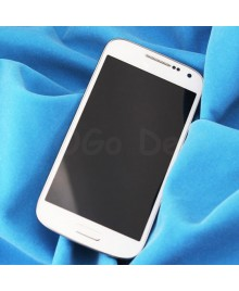 LCD Screen and Digitizer Assembly with Frame Replacement for Samsung Galaxy S4 Mini i9195T - White