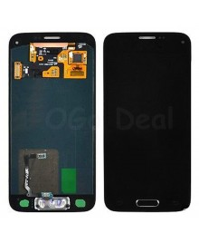 For Samsung Galaxy S5 Mini LCD & Touch Screen with Home Button Replacement - Black