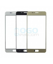 OEM Front Outer Screen Glass Lens Replacement for Samsung Galaxy A3 2016 A310 Black (Third Party)