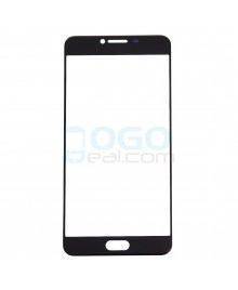 Front Outer Screen Glass Lens Replacement for Samsung Galaxy C5 - Black