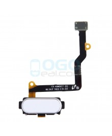 Back Home Button Flex Cable Replacement for Samsung Galaxy C5 White