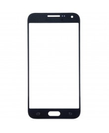 Front Outer Screen Glass Lens Replacement for Samsung Galaxy E7 - Black