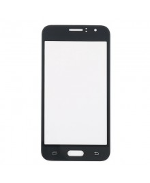 Front Outer Screen Glass Lens Replacement for Samsung Galaxy J1 2016 J120 - Black