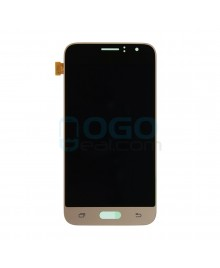 LCD & Digitizer Touch Screen Assembly Replacement for Samsung Galaxy J2 2016 J210 - Gold