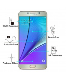 Samsung Galaxy Note 3 Tempered Glass Screen Protector Film Guard 9H With retail Packing Box