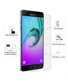 Samsung Galaxy A5(2016) A510 Tempered Glass Screen Protector Film Guard 9H With retail Packing Box