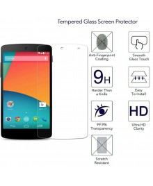 Google Nexus 5 Tempered Glass Screen Protector Film Guard 9H With retail Packing Box