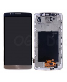 LG G3 LCD Screen and Digitizer Assembly With Frame  D855 D851 D850 LS990 - Gold