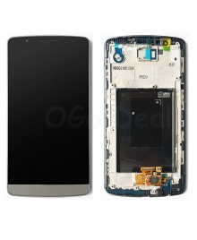 LG G3 LCD Screen and Digitizer Assembly With Frame  D855 D851 D850 LS990  - Gray
