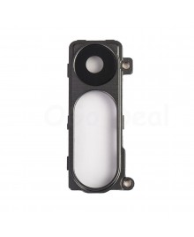 LG G3 Back Rear Camera Glass Cover & Bracket- Gray