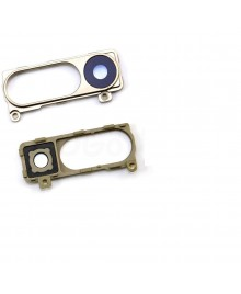 LG G3 Back Rear Camera Glass Cover & Bracket- Gold