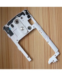 LG G3 Back Housing Middle Bezel Frame Replacement - White